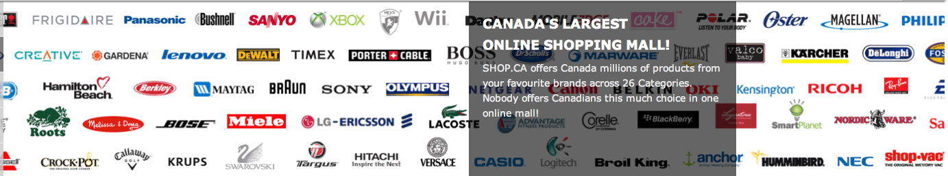 Canada's largest online shopping mall
