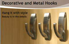 Thumbnail image for Command™ Faux Metal Hooks: Get Hooked for Back to School! {GlVEAWAY}