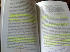 Finding God in the Dark highlighted pages