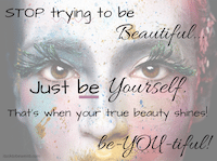 Thumbnail image for Stop trying to be beautiful.