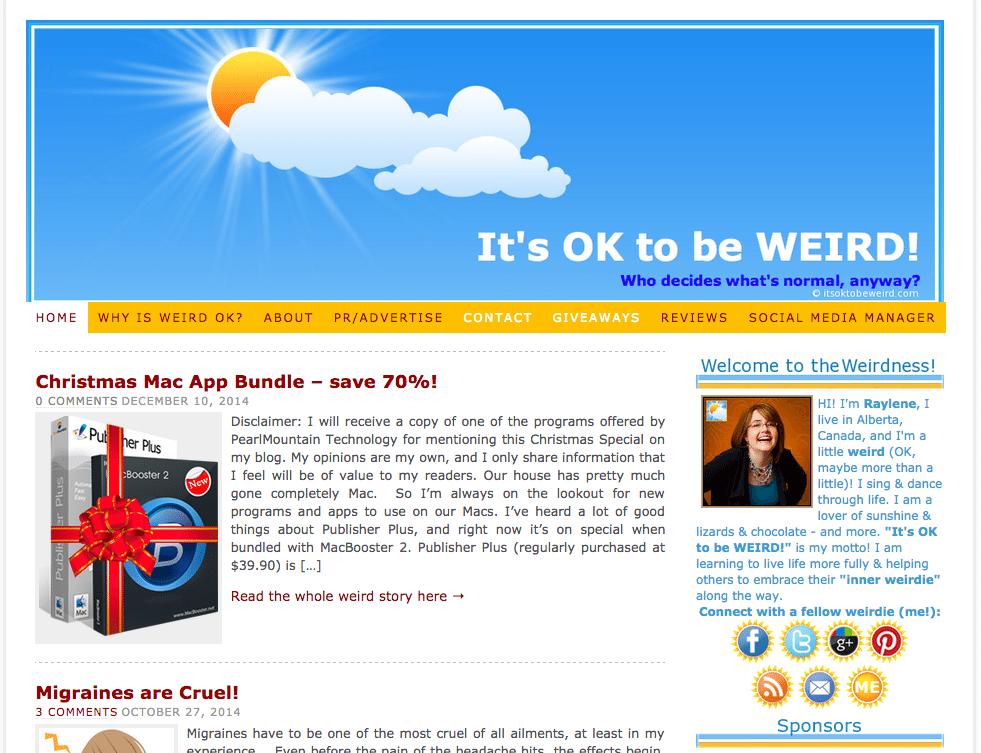 Weird blog 2