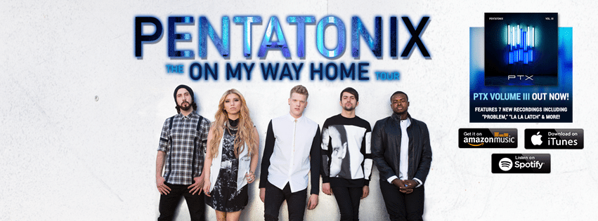 Pentatonix Concert Live Stream - On My Way Home Tour
