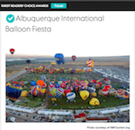 Thumbnail image for Vote for The Albuquerque International Balloon Fiesta