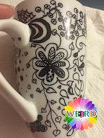 Thumbnail image for Zentangle Mug – DIY Step by Step